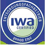 Logo IWA certified